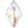 Swarovski Pendant 6320 Rhombus 14mm Aurora Borealis Crystal